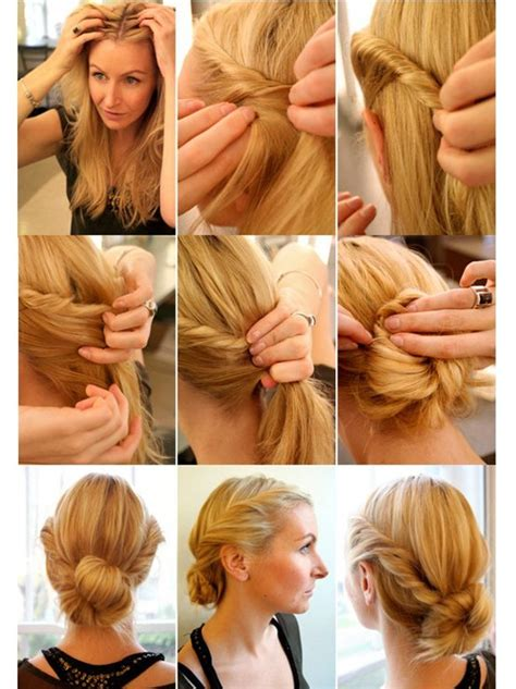 how to do a pretty bun 3 everyday twisted hairstyles to try