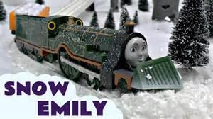 thomas amp friends snow clearing emily trackmaster kids toy train thomas tank engine