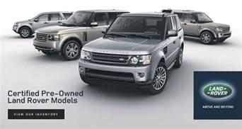 certified pre owned land rover models roanoke va