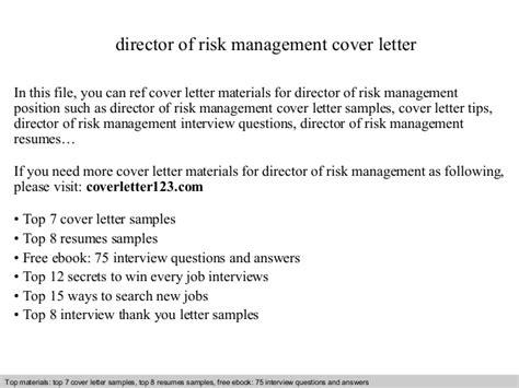 Risk Management Cover Letter Graduate Director Of Risk Management Cover Letter