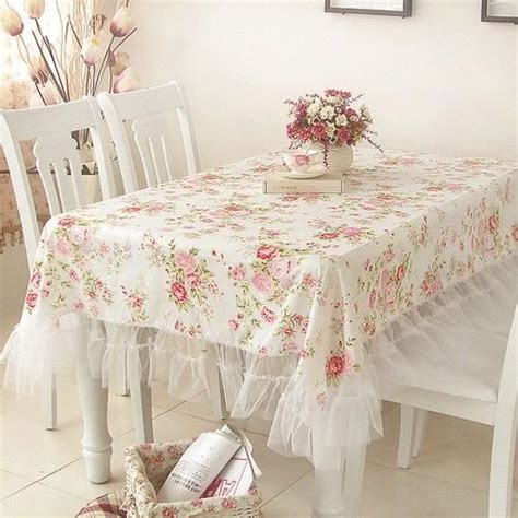 shabby chic table cloths 73 best pretty table cloths images on
