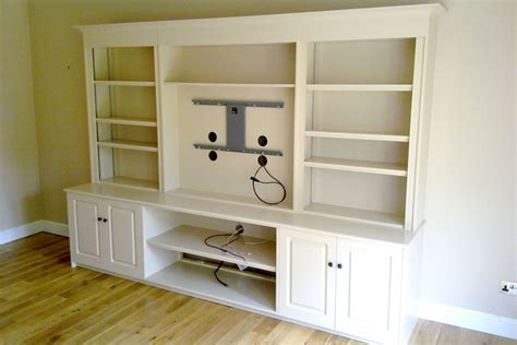 tv cabinet with bookshelves bepoke bookcase and media cabinets bristol built living room furniture durkan design