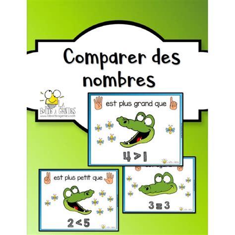 Comparer des nombres Comparere