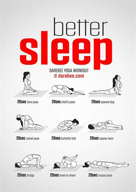 Is It Better To Exercise At Home Or Darebee On Quot New Better Sleep Workout Https