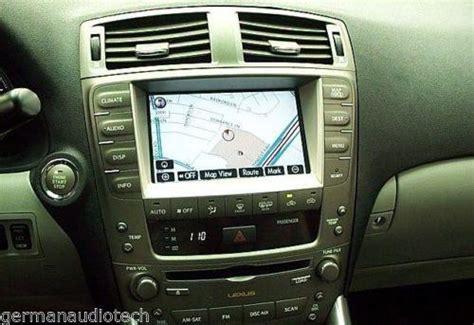 repair service for lexus is250 is350 isf navigation radio 2006 2007 20 german audio tech
