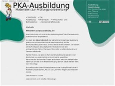 Bewerbungsschreiben Ausbildung Kauffrau Für Büromanagement Pka Ausbildung De Pka Ausbildung Unterrichtsmaterialen