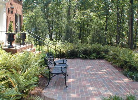 Home Garden Design Atlanta 3 Welcoming Front Courtyard Patio Traditional Patio