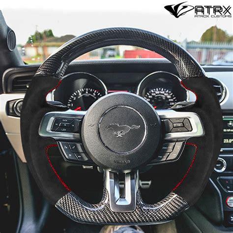 la volante volante deportivo fibra carbono alcantara ford mustang