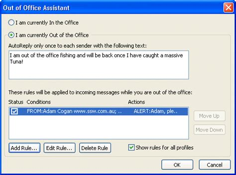professional out of office message template 28 images