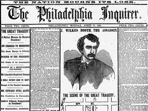 How The Philadelphia Inquirer Reported Lincoln S