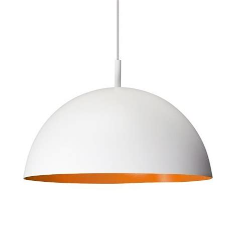 ceiling dome light large modern white orange retro style dome ceiling