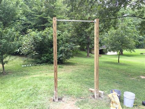 backyard gym equipment best 25 outdoor pull up bar ideas on pinterest pull up