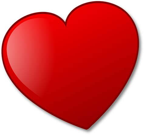 clipart cuore immagine vettoriale gratis cuore san valentino