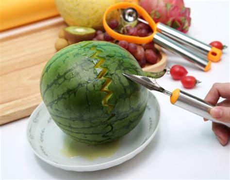 New Sendok Pengerok 3in1 Serut Pengupas Scoop Buah Nanas Semangka Frui alat pengupas buah sendok scoop pengerok 3in1 gratis