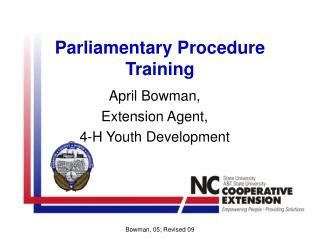 ppt parliamentary procedure robert s of order powerpoint presentation id 258787