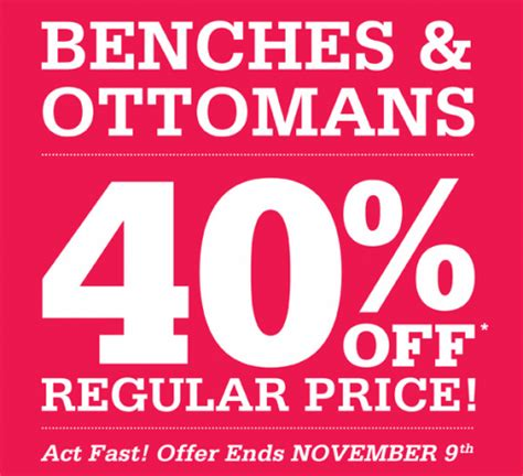 bench canada discount code kitchen stuff plus canada coupons save 40 off benches