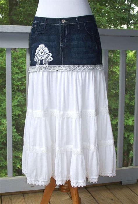best 25 blue jean skirts ideas on blue jean