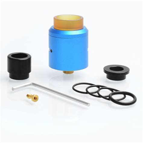 Authentic Rda Druga 24 24 99 authentic augvape druga rda blue 24mm rebuildable atomizer
