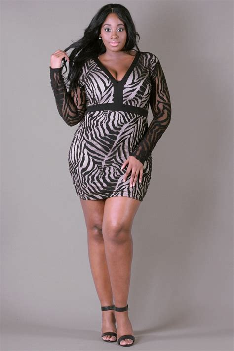 Zebra Dress plus size zebra lace dress black plus size