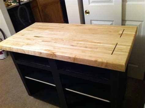 chopping block kitchen island rolling island raised panel and butcher block kitchen