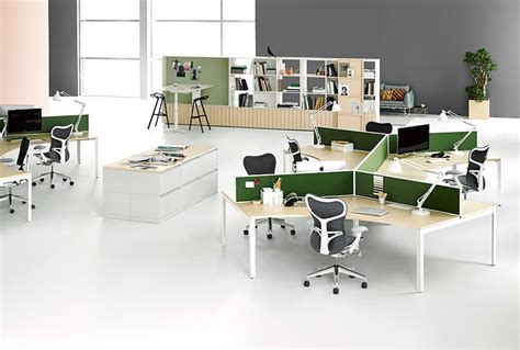 Open Plan Office Furniture Systems In Nyc Benhar Office Open Plan Office Furniture