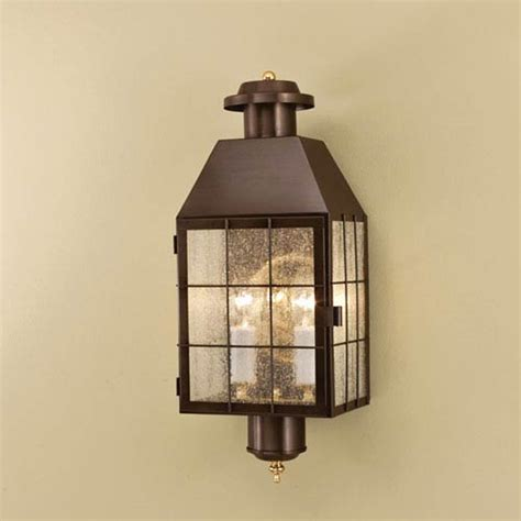 American Outdoor Lighting American Heritage Bronze Two Light Outdoor Wall Mount Price Tracking