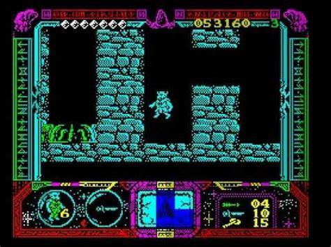 best spectrum games zx spectrum game soldier of fortune 2 3 youtube