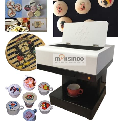 Mesin Kopi Printer mesin printer kopi dan kue coffee and cake printer toko