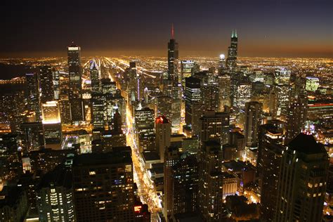 downtown chicago lights celestial chicago sanibona