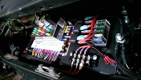 Rewired And Tucked The Car