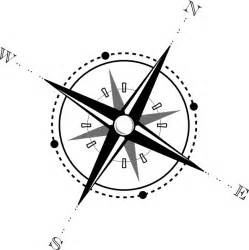 black and white compass clip art at clker com vector