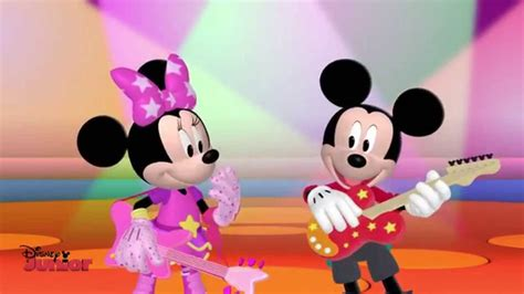 me for me music video virina disney junior youtube mickey mouse clubhouse rocks mickey and minnie s song