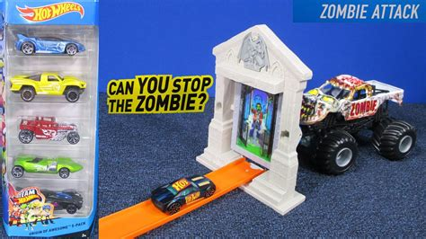 hot wheels zombie attack track set review  racegrooves