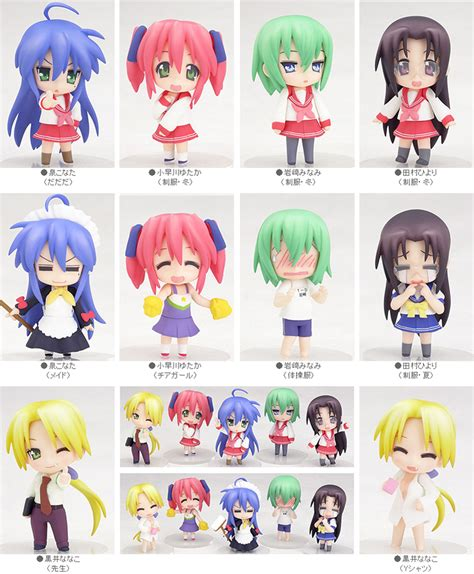 3pc Figure Live Chibi A2 School Idol Project Tatakan Pink Hg002 smile nendoroid petit lucky 183 milkbread 183 store powered by storenvy
