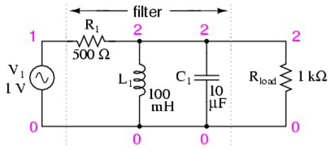 high pass filter lc circuit lessons in electric circuits volume ii ac chapter 8