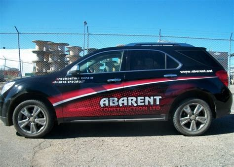 Auto Decals Edmonton by Vehicle Wraps Vehicle Decals Vehicle Graphics Edmonton Ab