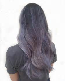 lilac color hair smokey lilac hair is the hair colour for 2016