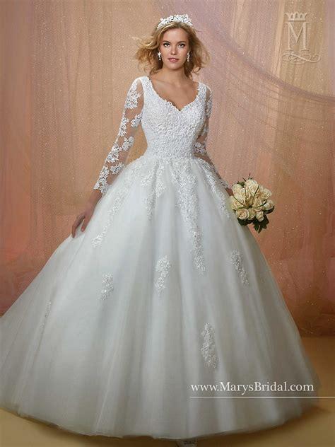 S Wedding Dresses by Marys Bridal 6455 Wedding Dress Madamebridal