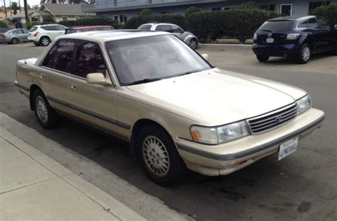how to fix cars 1992 toyota cressida auto manual 1992 toyota cressida luxury sedan 4 door 3 0l classic