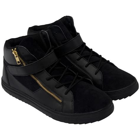 From Designer Shoes To Designer Zip Codes 2 by Rock And Religion Mens Trainers Zip Lace Up Footwear