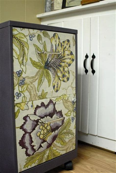 painting a rusty file cabinet ugly filing cabinet turned fab fabric mod podge spray