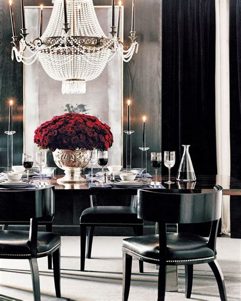 ralph lauren black white dining room tablescapes 100 dining room decor ideas for your home room decor ideas
