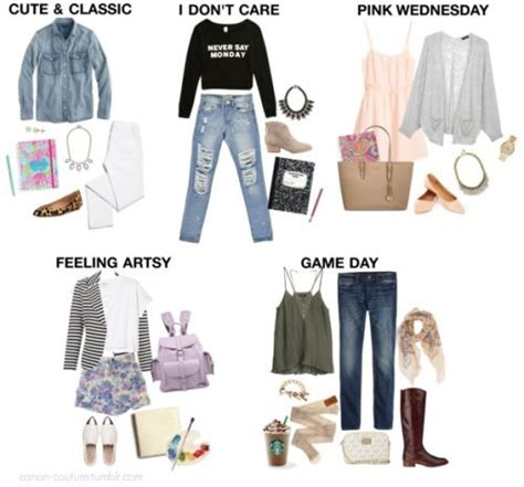 Clothes My Back Thursday Ask Fashion back to school ugh style inspiration i put together
