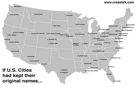us towns 23 funny and interesting maps that show just how weird