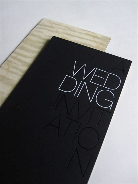 Wedding Invitations Black by Modern Foil St Wedding Invitations