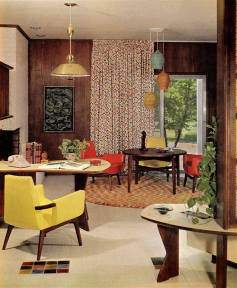 sixties home decor groovy interiors 1965 and 1974 home d 233 cor