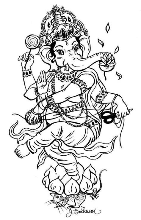 ganesh tattoo stencil outline lord ganesha tattoo design by artemisiasynchroma