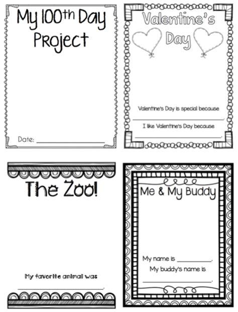 Kindergarten Memory Book Thehappyteacher Preschool Memory Book Template