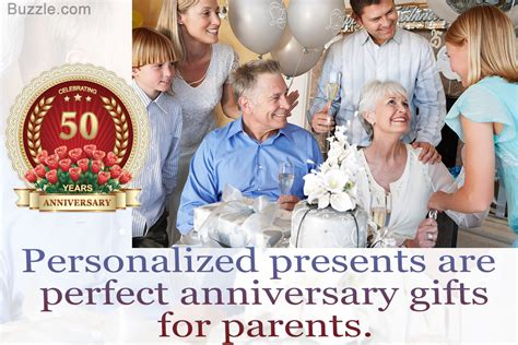 Wedding Anniversary Gift For Parents by Memorable 50th Wedding Anniversary Gifts For Parents