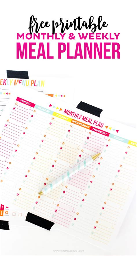 here is a blank meal plan template you can use template business idea
